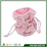 Lovely Custom Promotional Velvet Gift Bag