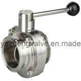 Sanitary Clamp Butterfly Valve with EPDM Seal