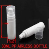 30ml White PP Aireless Face Cream/Lotion/Gel /Essential Oil Bottle/Container