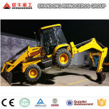4X4 Compact Tractor with Loader and Backhoe 8ton Loader Backhoe