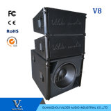 V8 Vsub 3 Way Outdoor Indoor Show Audio Dual 10 Inch Passive Line Array Speaker