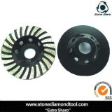 4 Inch Turbo Steel Grinding Wheel for Coarse Concrete