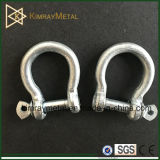 EU Type Galvanized Commercial Bow Shackle