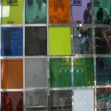 Decorative Colored PVB Laminated Glass with CE Certificate