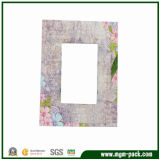 High Quality Rectangle Patterned Wooden Picture Frame with RoHS Certification