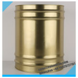 20liter Golden Metal Pail_for Packaging Chemicals