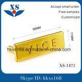 Gold Custom Metal Nameplate for Handbags