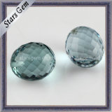 New Product Facted Cut Bead with Hole Cubic Zirconia