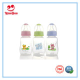 Standard Neck 4oz PP Baby Feeding Bottle with Soft Nipple