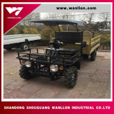 Customized 4 Wheel Diesel Utility Amphibious Car/ Farm UTV with Shed