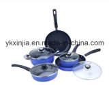 Kitchenware Aluminum Cooking Ware 9PCS Cookware Set