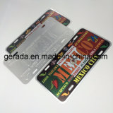 Embossing Mexico Metal License Plate
