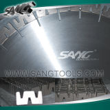 "Diamond Saw Blade for Granite with ""W"" Segments (SGB-GW)"