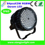 New 84X3w RGBW/RGB LED State PAR Can Light