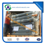 25 X 25 Mesh Galvanized Chain Link Fence Directly Factory