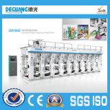 High Speed Plastic Film Gravure Printing Machine