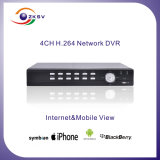 H 246 Wireless DVR Player CCTV Net Video DVR (ZK-6004F-4K)
