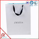 Matte Lamination Black Paper Shopping Bag with Custom Logo