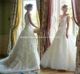 off-Shoulder Ball Gowns Applique Lace Wedding Dresses Z5056