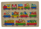 Wooden Train Puzzle Educational Puzzle