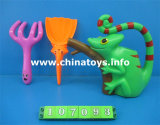 Plastic Beach Set Toy. Summer Toy Beach Bucket, Spade (107093)
