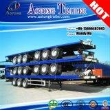Tri-Axle 48FT Container Flatbed Semi Truck Trailer