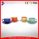 Wholesale 2-Tone Colors Cup & Saucer