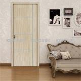 Eco-Friendly Waterproof WPC Interior PVC Covered Door for Toilet Bedroom (KM-15)