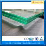 SGCC, En12150, Bsi, Csi Certificated, 3-19mm Decoration Embossed EVA Laminated Glass