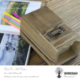 Hongdao Custom Wooden Pen Holder with Dividers and Drawer Wholesale_L