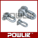 Hardware Hot-DIP Galvanized Steel U Type Shackle for Link Power Fitting