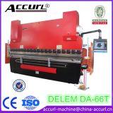 Delem Da52s MB8-80t-2500 Hydraulic CNC Press Brake for Metal