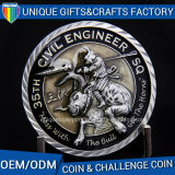 Custom Small 3D Metal Coins for Souvenir Gifts