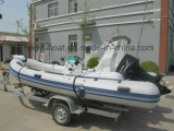 Made in China Cheap Rib Boat, Inflatable Fishing Boat, Sport Boat Rib520c for Sale