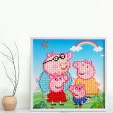 Factory Direct Wholesale New Children DIY Handcraft Sticker Promotion Kids Girl Boy Gift T-142