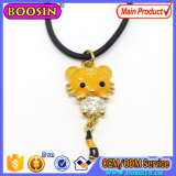 Cute Little Tiger Gold Charm Necklace Fashion Jewelry