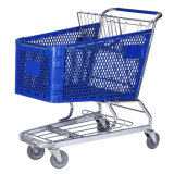 Plastic Shopping Cart (YLD-PT180-2FB)