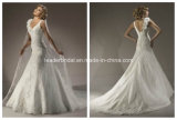 New Sweetheart Bridal Gown Lace Applique Wedding Dress Yao80