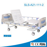 CE and FDA Approved Manual 2-Rocker Hospital Bed (SLS-A21-111-2)