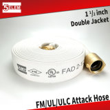 "Fire Hose FM UL ULC 1-1/2"" EPDM Lined Fire Fighting Hose"