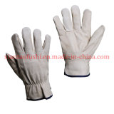 Grain Pigskin Leather Drivers Gloves