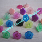 Plastic Flower Head Push Pin for Home Decoration (N30712C--p150726b)