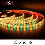 Color Changing RGB+Amber LED Rope Light Strip Home Lighting