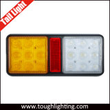 E-Approved 8inch 2 Pod Combination LED Trailer Lights