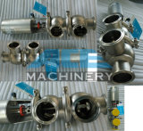 Stainless Steel Sanitary Grade Manual Flow Diversion Valve (ACE-HXF-N1)