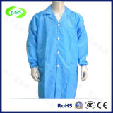 Polyester Blue ESD Antistatic Clothes (EGS-20)