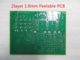1.0mm Double Layer Peelable Circuit Board