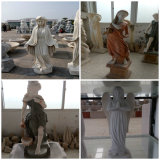 Natural Stone Carving Body Sculpture for Decoration