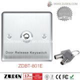 Stainless Steel Panel Door Release Button with Key