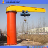 360 Degree Free Standing Jib Crane with Electric Wire Rope Hoist